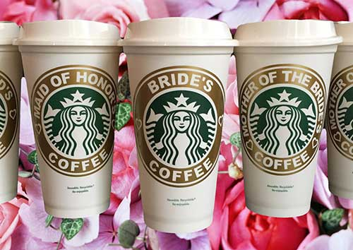 Mother of the Bride Starbucks Travel Mug