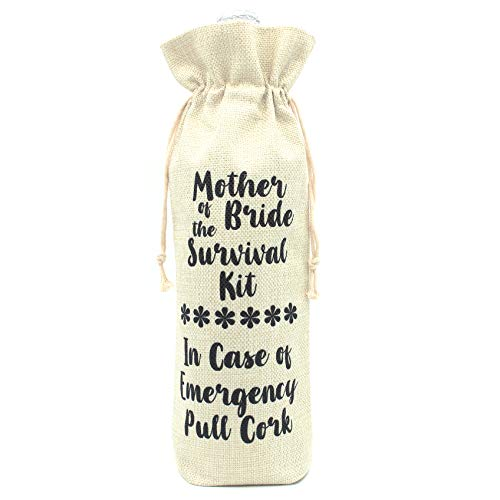 Mother of the Bride Wine Bottle Cover