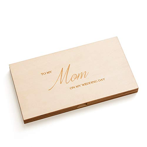 Mother of the Bride Wooden Box and Note Set