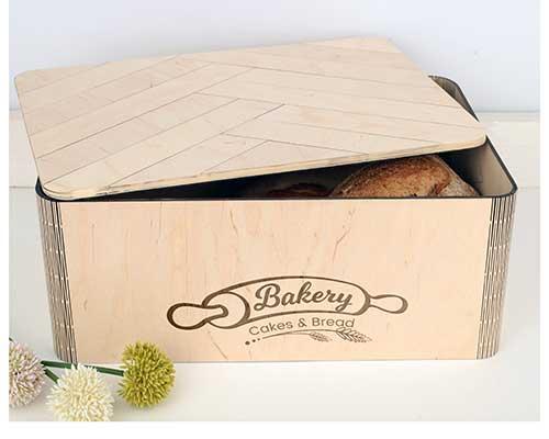 Personalized Breadbox