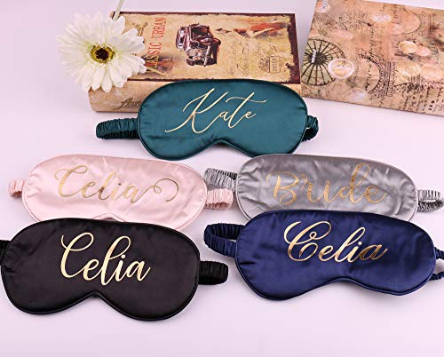 Personalized Mother of the Bride Sleep Mask
