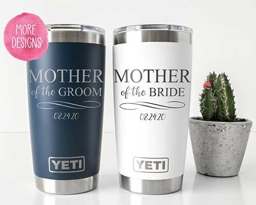 Personalized Mother of the Bride YETI Tumbler