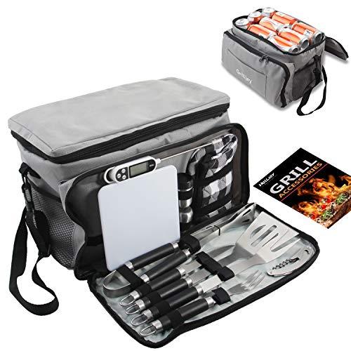 Portable Grilling Tools Set