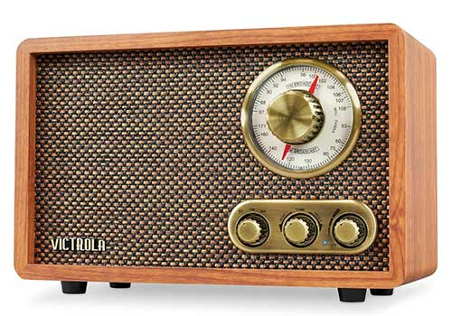 Retro Victrola AM FM Radio