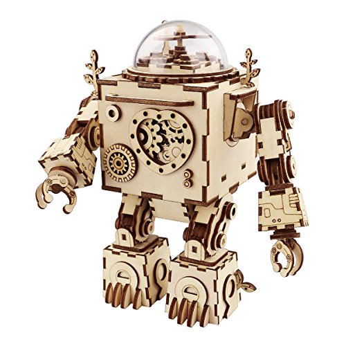 Robotime Music Box Toy With Light