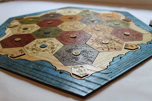Settlers of Catan Custom Gameboard