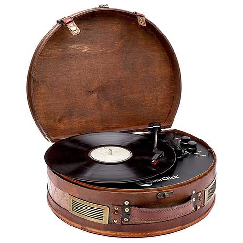 Suitcase Turntable With Bluetooth and USB