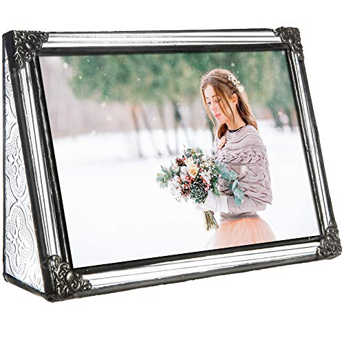 Vintage Style Glass Picture Frame