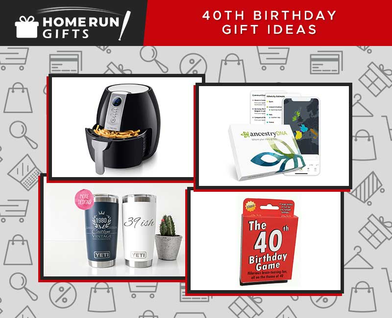 40th Birthday Gift Ideas