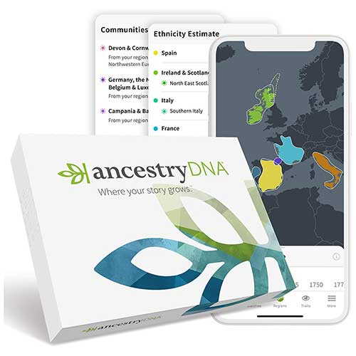 AncestryDNA Genetic Ethnicity Test