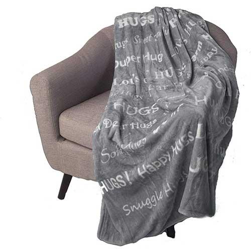 Blankiegram Inspiring Message Blanket