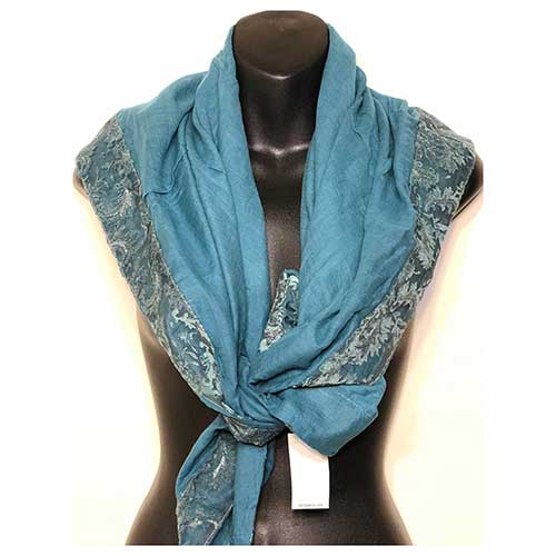 Cotton Lacey Scarf