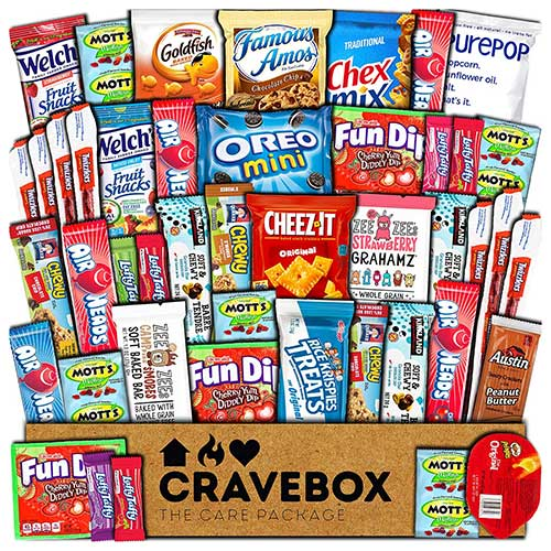 CraveBox Snack Pack