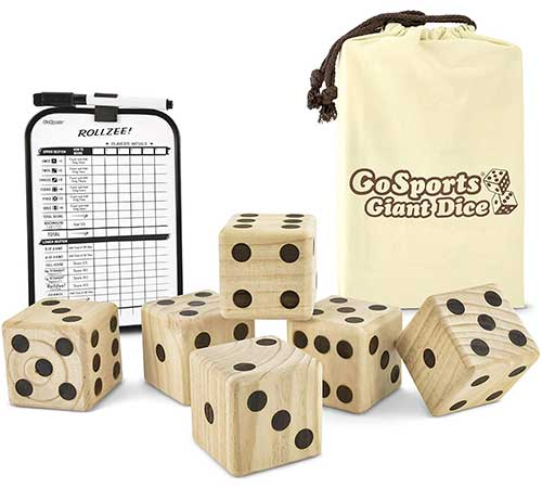 GoSports Giant Dice