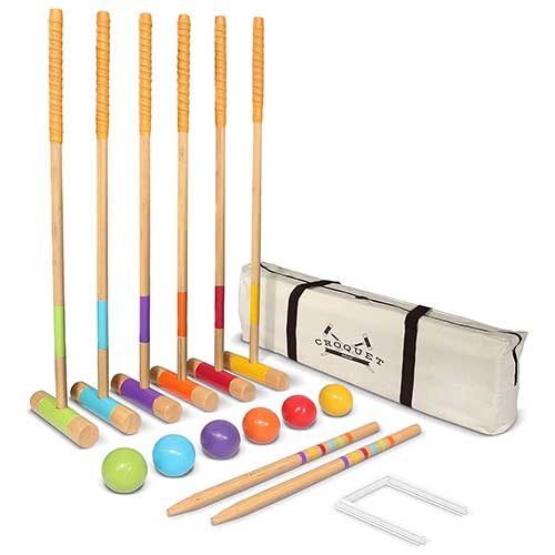 GoSports Six Player Croquet Set