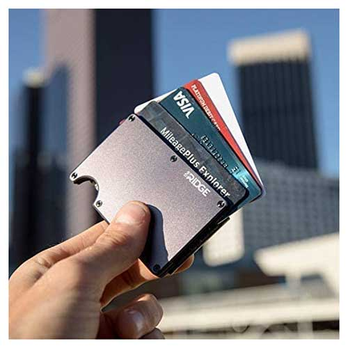 High Quality Minimalist RFID Blocking Money Clip