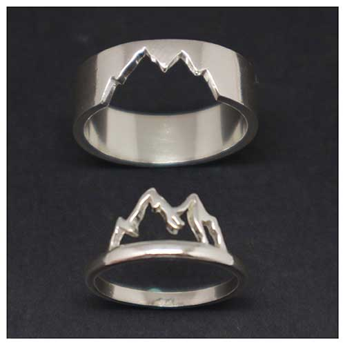 Matching Mountain Range Rings