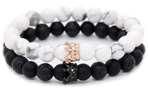Matching Stone Bracelets