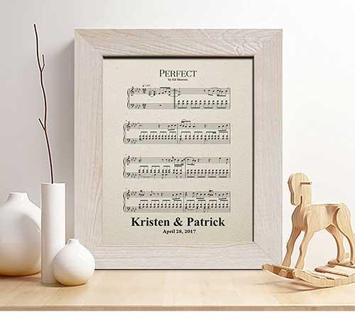 Printed Sheet Music
