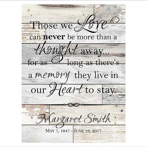 Shiplap Memory Poster