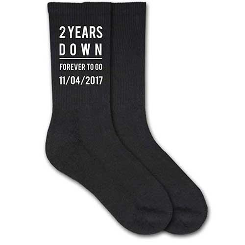 Two Years Down Socks