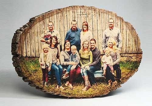 Wooden Photograph