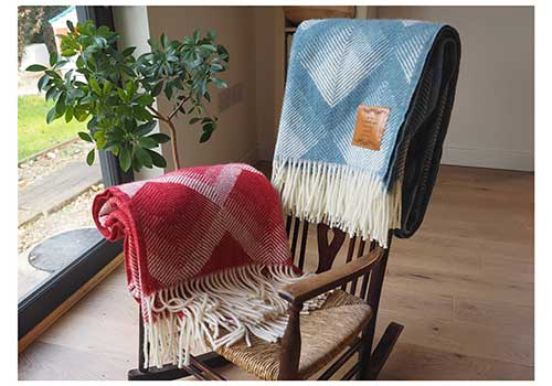 Woollen Personalized Throw