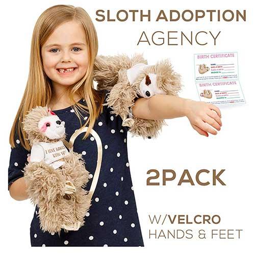 Adopt a Sloth Stuffed Animals