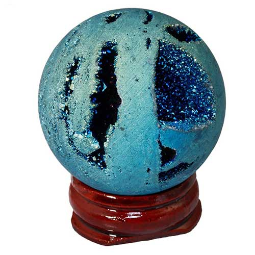 Agate Geode Light Ball
