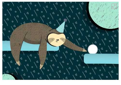 Amazon Sloth Gift Card