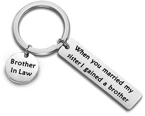 Brother-in-Law Keychain