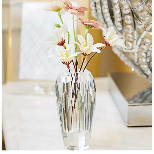 Bud Crystal Centerpiece Vase