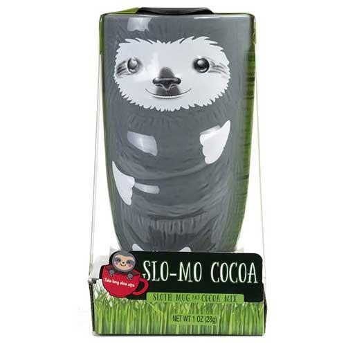 Sloth Travel Mug and Cocoa Set