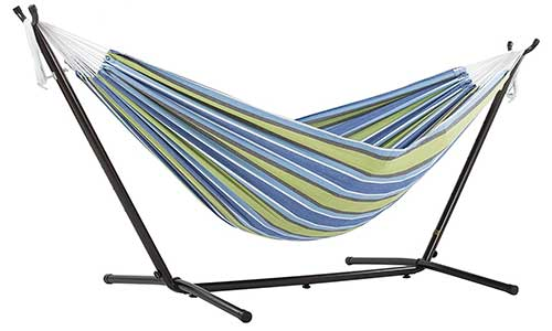 Cotton Hammock with Frame