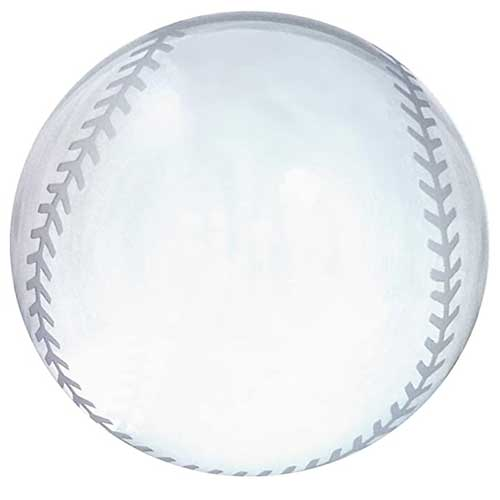 Crystal Baseball Themed Paperweight