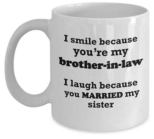 Funny Brother-in-Law Mug