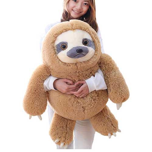 Giant Sloth Stuffed Animal