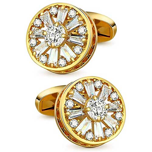 Gold Cufflinks for Him