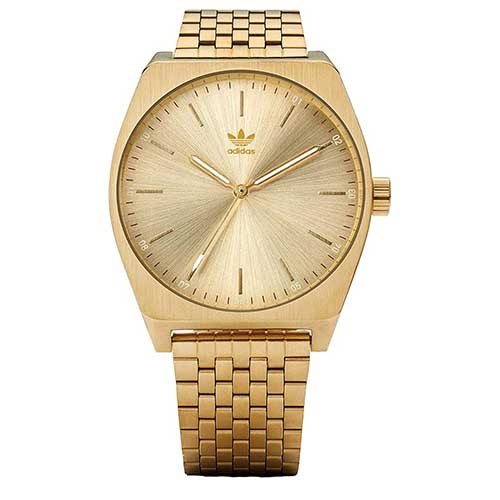 Gold Men's Adidas Watch