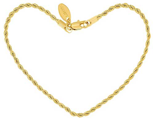 Gold Plated Ankle Chain