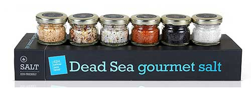 Gourmet Dead Sea Salt Sampler