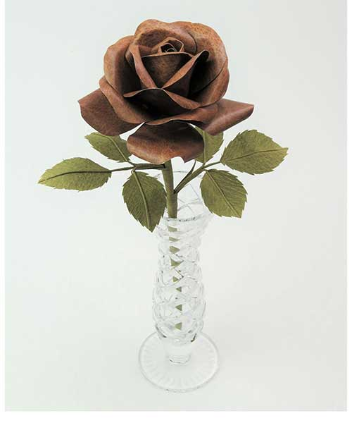 Leather Anniversary Rose