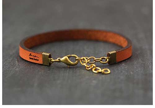 Leather Feminine Bracelet