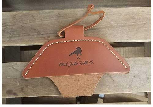Leather Skillet Handle