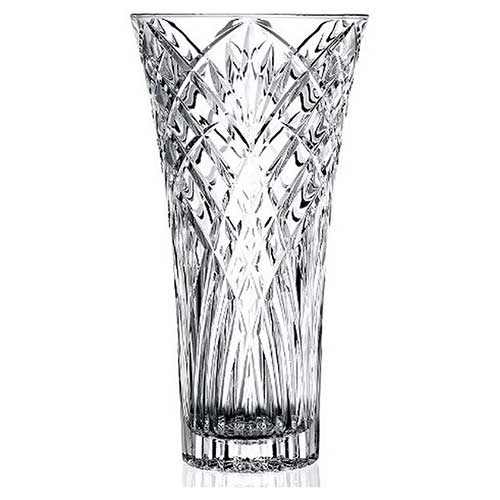 Melodia Collection Cut Crystal Vase