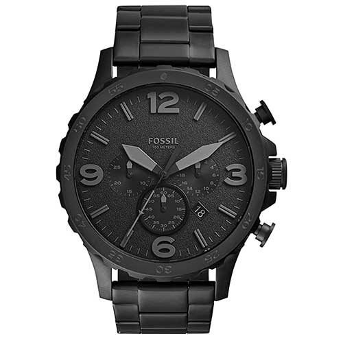 Men's Stainless Steel Quartz Watch from Fossil