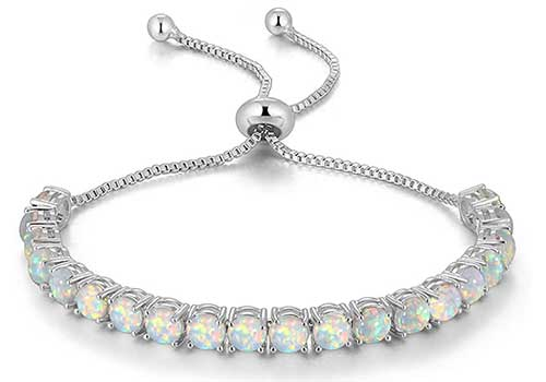 Opal Tennis Bracelet