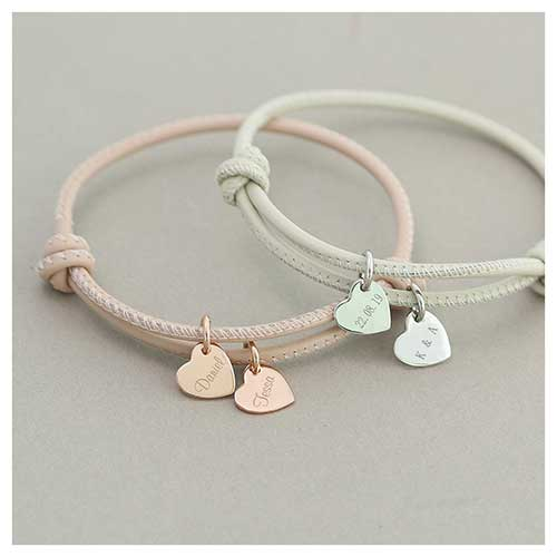 Pastel Leather Cord Bracelet