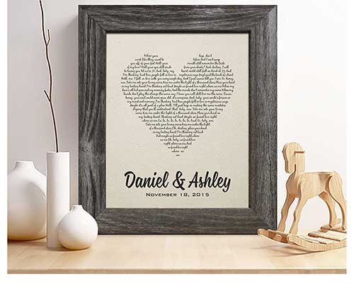 Personalized Cotton Print