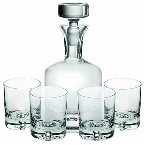 Ravenscroft Crystal Old Fashioned Decanter Set